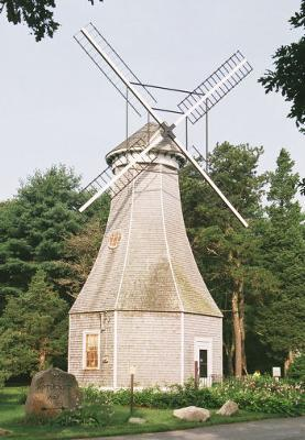 Aptucxet Trading Post Museum Windmill