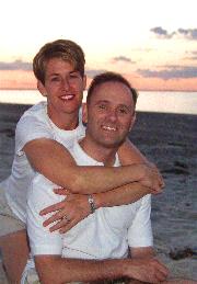 Karen and Michael on Beach