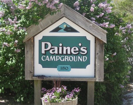 Cape Cod Camping - Paines Campground