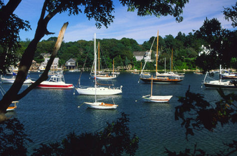 Woods Hole Harbor, Cape Cod